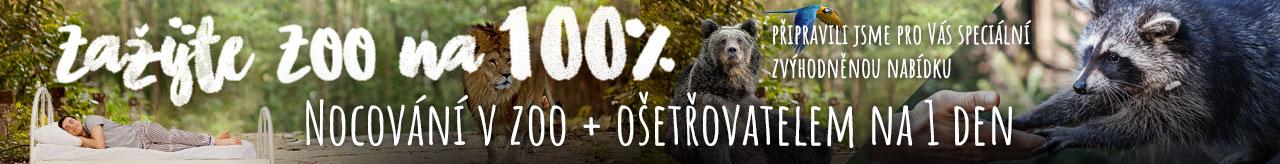 Zažijte ZOO na 100%